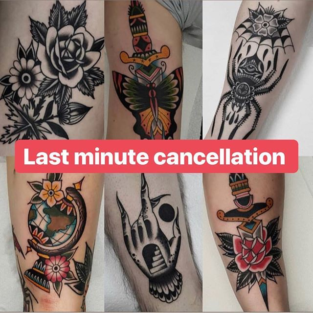 @duncansweeny just had his afternoon cancel for tomorrow. You want cool as fuck traditional stuff? Get in contact!!! #timelesstattooglasgow #timeless #tattoo #glasgow #traditionaltattoos #traditionaltattoo #daggers